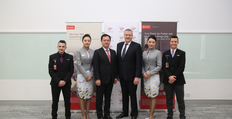 Virgin Australia To Expand Its Presence In Greater China Under New Codeshare With Hainan Airlines Expanded Frequent Flyer Partnership Virgin Australia Newsroom