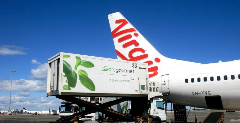 Virgin Australia International Flights Food