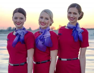 Virgin Australia Hostess'
