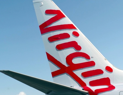 Virgin Plane Tail