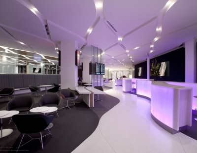 Virgin Australia Melbourne Lounge Entrance