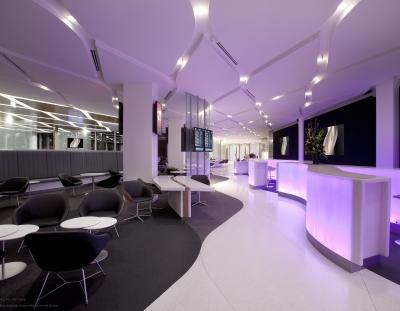 Virgin Australia Melbourne Lounge Entrance